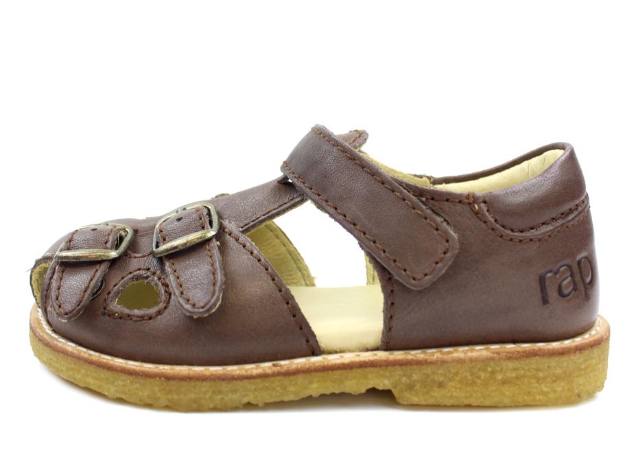 0c785ff278d4 RAP sandal brun med spænder