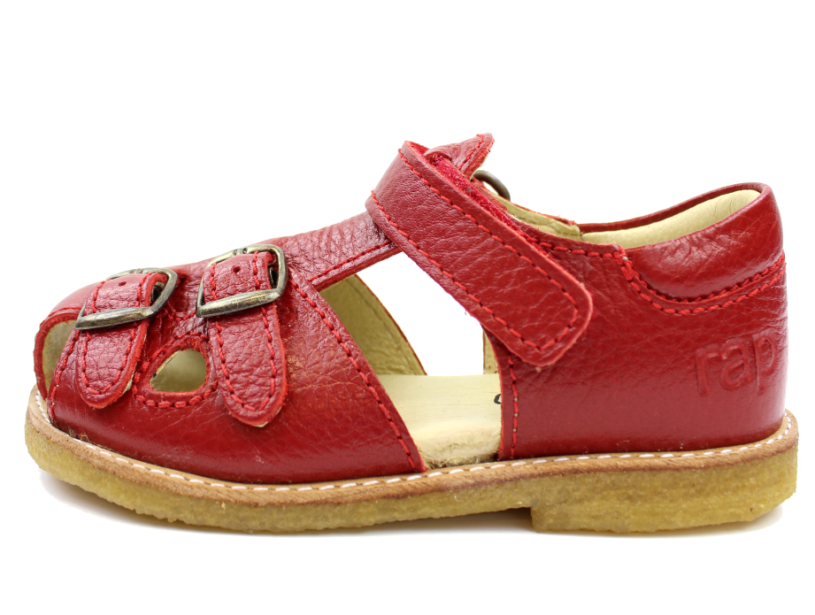 34a1a922ca2 RAP sandal rød med spænder | 12149s19 P1 | Fra Kæmpe sommerudsalg hos  MilkyWalk