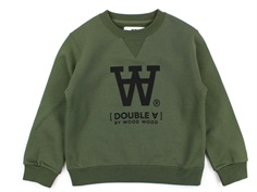 Wood Wood sweatshirt Rod army green