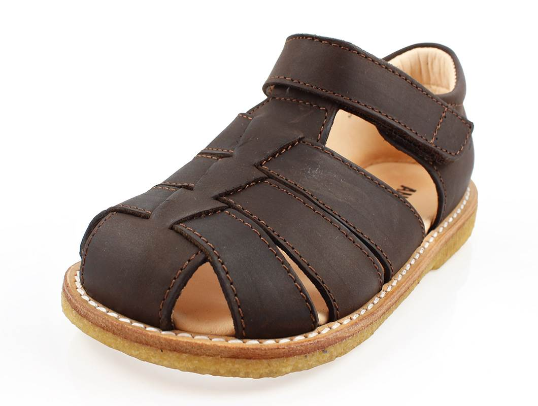 27f217278644 Angulus sandal brun