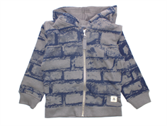 Small Rags Eddy cardigan grey castle