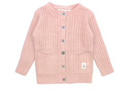Small Rags Ella cardigan misty rose