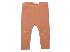 Small Rags Fanny leggings cognac