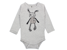 Small Rags Felix body grey melange