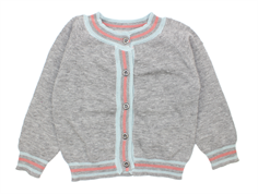 Small Rags Grace cardigan grey melange