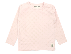 Small Rags Grace t-shirt sepia rose hjerter