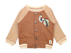 Small Rags cardigan Fanny cognac