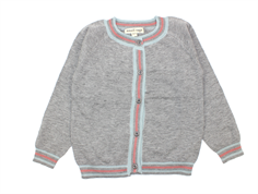 Small Rags cardigan Gerda grey melange