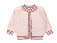 Small Rags cardigan Grace sephia rose