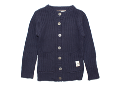 Small Rags cardigan navy iris