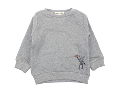 Small Rags sweatshirt gray flannel
