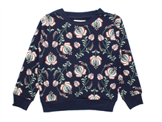 Small Rags sweatshirt outer space blomster