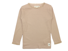 Small Rags t-shirt Freya warm taupe