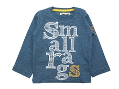 Small Rags t-shirt mallard blue