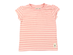 Small Rags t-shirt coral cloud