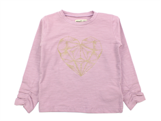 Small Rags t-shirt mauve shadows