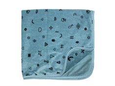 Soft Gallery 948-460-664 Baby Towel Smoke Blue