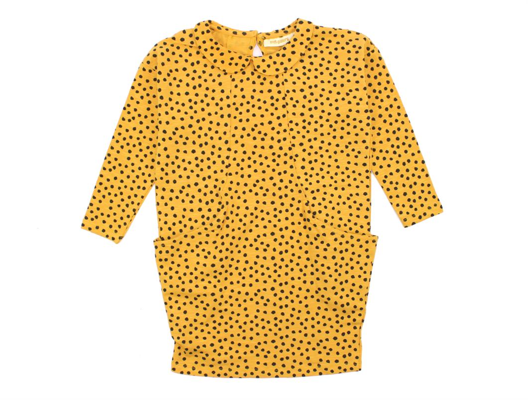44db5b649a3 Soft Gallery kjole Adele golden yellow | 519-121-615 | Kæmpe ...