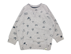 Soft Gallery Alexi sweatshirt  grey melange elements