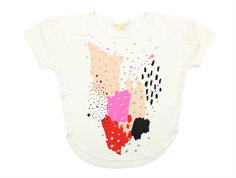 Soft Gallery Amaris t-shirt gardenia painting