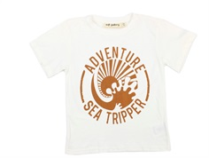 Soft Gallery t-shirt Asger white seatripper