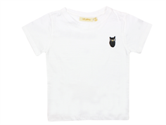 Soft Gallery Bass t-shirt med ugle white