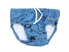Soft Gallery Miki badeshorts copen blue quirky UV