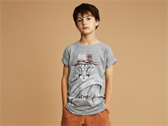 Soft Gallery Norman t-shirt groucho grey melange
