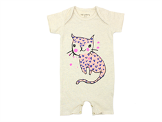 Soft Gallery Owen body heldragt cream melange catlove