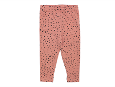 Soft Gallery Paula baby leggings rose dawn dotties