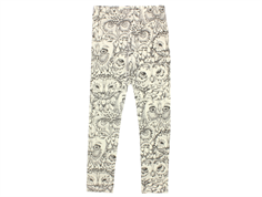 Soft Gallery Paula junior leggings cream owl