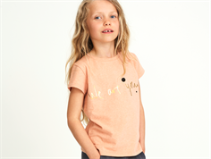 Soft Gallery Pilou t-shirt apricot we are