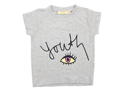 Soft Gallery Pilou t-shirt grey melange youth