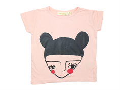 Soft Gallery Pilou t-shirt rose cloud topknot