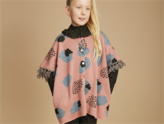 Soft Gallery Riley poncho rose dawn