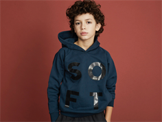 Soft Gallery Siggi hoodie sweatshirt reflecting pond blue