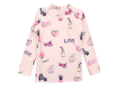 Soft Gallery badebluse Astin rose cloud candy UV