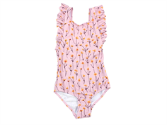 Soft Gallery badedragt Ana Swimsuit dawn pink buttercup