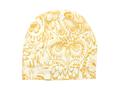 Soft Gallery beanie cream golden glow owl