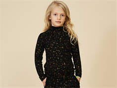 Soft Gallery bluse/top Fayenne jet black flakes gold