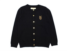 Soft Gallery cardigan Mila owl jet black