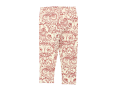 Soft Gallery leggings Paula cream owl mahogany
