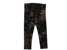 Soft Galler leggings Paula jet black mini splash