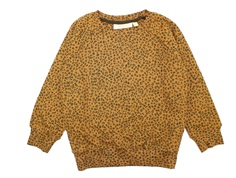 Soft Gallery sweatshirt Chaz golden brown leospot