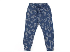 Soft Gallery sweatpants Jules majolica blue leopard