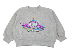 Soft Gallery sweatshirt Drew grey melange spaceship
