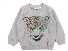 Soft Gallery sweatshirt Konrad grey melange raptor