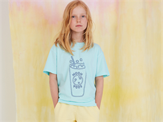 Soft Gallery t-shirt Asger blue tint bluesoda