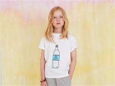 Soft Gallery t-shirt Asger white spacewater