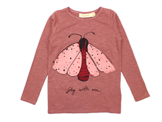 Soft Gallery t-shirt Beverly withered rose mothdot